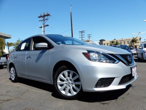 Pre-Owned 2016 Nissan Sentra S FWD 4D Sedan